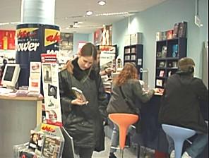 Music Infostation im deutschen Tonträgerfachhandel